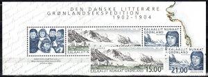 Greenland #407-8, 408a  MNH CV $28.00 (X280L)