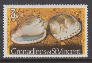 St Vincent Grenadines 35 Seashell MNH VF