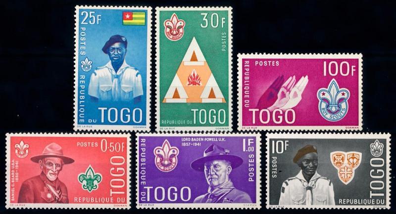 [66604] Togo 1961 Scouting Jamboree Pfadfinder  MNH