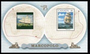CANADA - $1.25 Marco Polo Ship 1999 SC1779 Mini Sheet