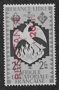 FRENCH EQUATORIAL AFRICA SC# B30  FVF/MOG    1944