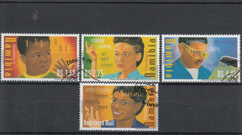 Namibia 2004 CTO Education SG#967-70 4v Teacher Primary School Secondary Used