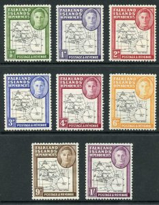 Falkland Is SGG1/G8 Thick Map Set of 8 U/M