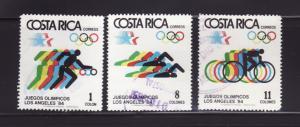 Costa Rica 304-306 U Sports, Olympics