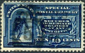 #E5 – 1895 10c Messenger Running. Used.