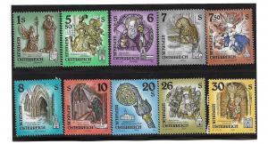 Austria 1599-1608 Monestery set MNH (BB)