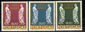 Portugal #1001-3  MNH CV $3.65 (X1367)