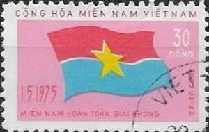 1976  Vietnam  NFL Flag  Mitchel# 69 Used