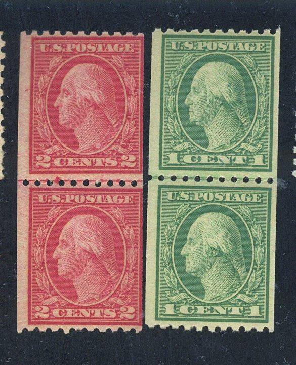 486 488 MINT L/P's F-VF OG NH Cat$49.50
