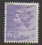 GB Machin  SG X948 15½p  phosphorised paper  Harrison