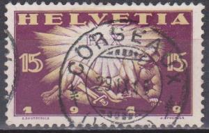 Switzerland #192 F-VF Used CV $2.75 (ST1311)