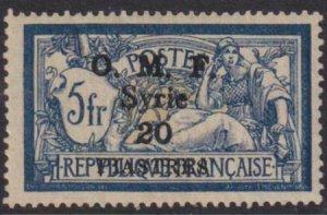 Syria 1920 SC 29 LH