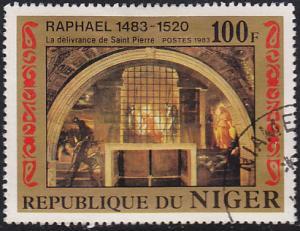 Niger 616 Raphael (1483-1520) Paintings 1983