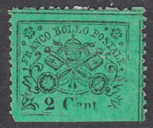 ITALY PAPAL STATES  An old forgery of a classic stamp.......................C202