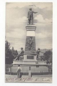 Salt Lake City Brigham Young Monument Barry Cancel 1906 PPC