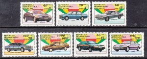 Madagascar 1106-1112 Cars MNH VF