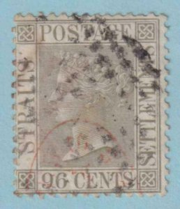 STRAITS SETTLEMENTS 18  USED - NO FAULTS VERY FINE !