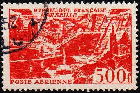 France.1949 500f S.G.1058 Fine Used