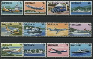 St. Lucia 1980 complete set unmounted mint NH
