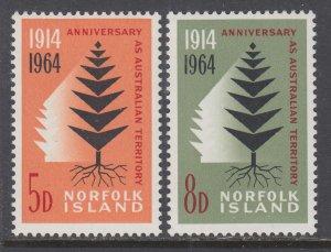 Norfolk Island 66-67 MNH VF
