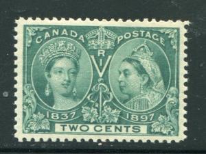 Canada #52 Superb  Mint  NH