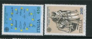 Italy #1513-4 MNH Europa - Make Me An Offer