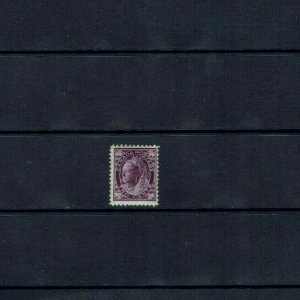 Canada: 1897, Queen Victoria 'Maple Leaf', 2c purple, Mint Very lightly hinged.