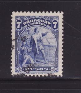 Paraguay 402 U Christopher Columbus, Explorer (B)
