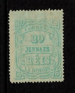 Brazil SC# P20 Mint No Gum / Hinge Rem / 2 Tiny Thins - S7193