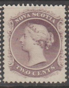 Canada Province - Nova Scotia Scott #9a Stamp - Mint Single