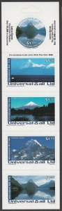 NEW ZEALAND Universal Mail $7.50 International Mail Booklet - Mountains.....R504