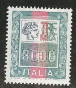 Italy Scott 1293 MNH** 1979 3000 Lire stamp