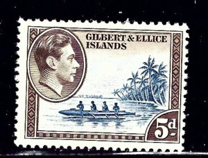 Gilbert and Ellice 46 MH 1939 issue    (ap1251)