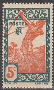 French Guiana #113 F-VF Unused (V4094)