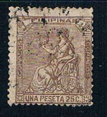 Philippines 51 Used Peace 1874 (P0109)