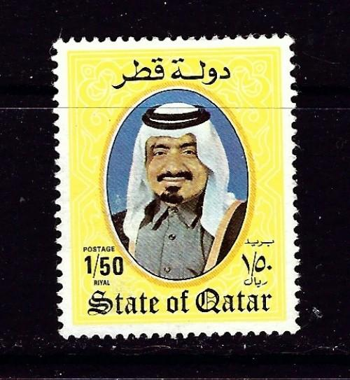 Qatar 655 No Gum 1984 Issue probably used