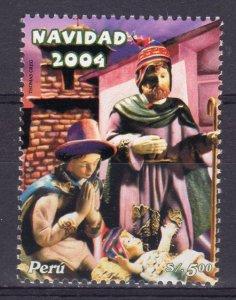Peru 2004 Sc#1450 Christmas 2004  By Thomas Greg Single MNH