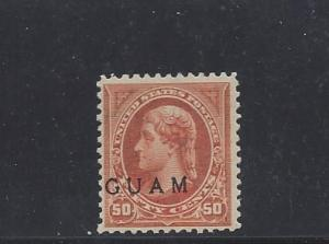 Guam, 11, Overprinted Single, **MNG** (LibS2)