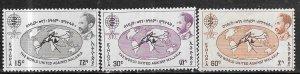 Ethopia #383-385 Malaria (M)  CV$4.40
