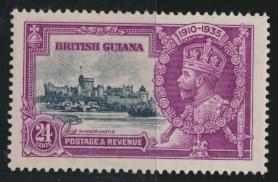 Jamaica SG 304 Mint Light hinged Silver Jubilee   SC# 226    see details