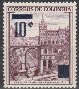 Colombia #691  MNH (S9578)