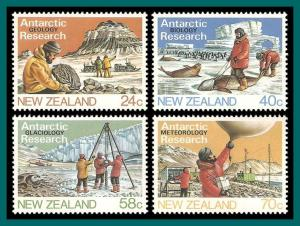 New Zealand 1984 Antarctic Research, MNH  791-794,SG1327-SG1330