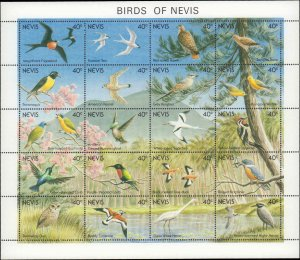 1991 Nevis #664-665, Complete Set(2), Never Hinged