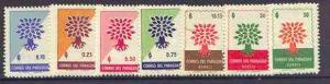 Paraguay 1961 World Refugee Year (2nd issue) set of 7 unm...