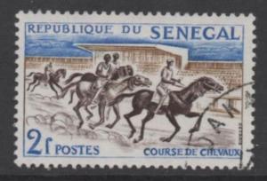Senegal   Scott# 204used  singles