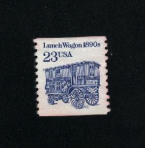USA #2464  2 used 1990-95 PD .08