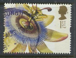 Great Britain SG 1964  Used  - Greetings Flower Paintings