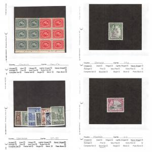 Lot of 79 Jamaica MNH Mint Never Hinged Stamps Scott # 116a - 401 #142867 R