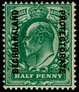 BECHUANALAND SG66, ½d blue-green, NH MINT.