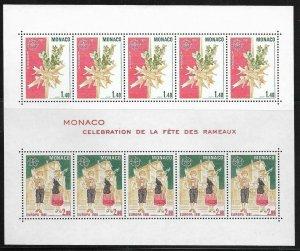 Sc# 1279a - Monaco - 1981 - Europa / Religion - MNH - superfleas - cv$18